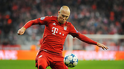 04.11.2015, Allianz Arena, Muenchen, GER, UEFA CL, FC Bayern Muenchen vs FC Arsenal, Gruppe F, im Bild Arjen Robben (FC Bayern Muenchen) // during the UEFA Champions League group F match between FC Bayern Munich and FC Arsenal at the Allianz Arena in Muenchen, Germany on 2015/11/04. EXPA Pictures © 2015, PhotoCredit: EXPA/ Eibner-Pressefoto/ Stuetzle<br /> <br /> *****ATTENTION - OUT of GER*****