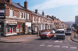 Corner shop in residential terrace housing area,