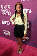 October 13, 2012- Bronx, NY: Kay Nicole at the Black Girls Rock! Awards Red Carpet presented by BET Networks and sponsored by Chevy held at the Paradise Theater on October 13, 2012 in the Bronx, New York. BLACK GIRLS ROCK! Inc. is 501(c)3 non-profit youth empowerment and mentoring organization founded by DJ Beverly Bond, established to promote the arts for young women of color, as well as to encourage dialogue and analysis of the ways women of color are portrayed in the media. (Terrence Jennings)