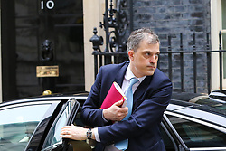 © Licensed to London News Pictures. 20/03/2019. London, UK. Julian Smith - Parliamentary Secretary to the Treasury (Chief Whip) arrives in Downing Street. Photo credit: Dinendra Haria/LNP