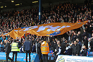 Picture by David Horn/Focus Images Ltd +44 7545 970036.16/02/2013 Luton Town fans savour the moment before thei game against Championship side Millwall before the The FA Cup match at Kenilworth Road, Luton.
