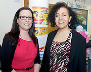 21/05/2013 Repro free. Sharon Lawless Social Inclusion Officer Department of Community & Culture, Galway City Council and Helen Webb Sonke at the launch of Africa Day 2013 at Galway City Museum by Galway City Council and Irish Aid  ....Africa Day falls on 25th May each year, with events taking place around the country from 20th-27th May. It is an initiative of the African Union, and aims to celebrate African diversity and success and the cultural and economic potential of the continent. In Ireland, events to mark Africa Day are supported by Irish Aid, the Government's programme for overseas development and Galway City Council...The events planned by Galway City Council will take place on 21st May and from 24th to 26th May. Galway City Council are launching Africa Day 2013 by Mayor of Galway City Cllr Terry O'Flaherty on Tuesday 21stMay @ 11:00 a.m.at the Galway City Museum with inputs from the African Ambassadors Network, Africian Film Festival, NUIG and music by South Africian Choirs. Picture:Andrew Downes