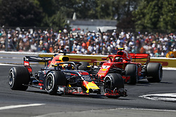 July 8, 2018 - Silverstone, Great Britain - Motorsports: FIA Formula One World Championship 2018, Grand Prix of Great Britain, .#3 Daniel Ricciardo (AUS, Aston Martin Red Bull Racing) (Credit Image: © Hoch Zwei via ZUMA Wire)