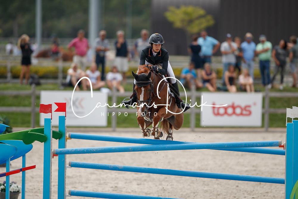 Verdu Vidal Otti, ESP, Top Lulu<br /> Juniors European Championships Jumping <br /> Samorin 2017&copy; Hippo Foto - Dirk Caremans<br /> 11/08/2017