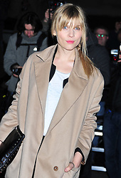 © Licensed to London News Pictures. 06/02/2012.  England. Clemency Poesy attends the Evening Standard Film Awards at County Hall westminster London Photo credit : ALAN ROXBOROUGH/LNP