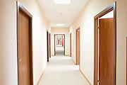 Corridor and doorways