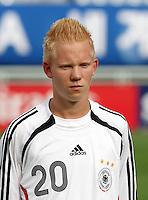 Fussball International U17 WM  Kolumbien - Deutschland Colombia 3-3 Germany Sascha Bigalke (GER)