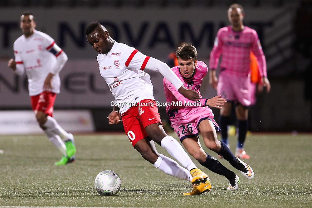 Ibrahim AMADOU / Adrien HUNOU - 19.12.2014 - Nancy / Clermont - 18e journee Ligue 2<br />Photo : Fred Marvaux / Icon Sport