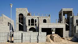 Construction of new luxury villa in Dubai United Arab Emirates