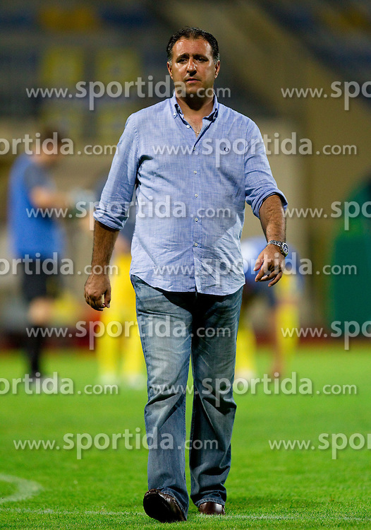 Vlado Badzim, head coach of Koper during football match between NK Domzale and NK Luka Koper of 4th Round of PrvaLiga 2011/2012, on August 6, 2011, in Sports center, Domzale, Slovenia.  (Photo by Vid Ponikvar / Sportida)