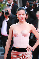 Adriana Lima at the The Homesman gala screening red carpet at the 67th Cannes Film Festival France. Sunday 18th May 2014 in Cannes Film Festival, France.
