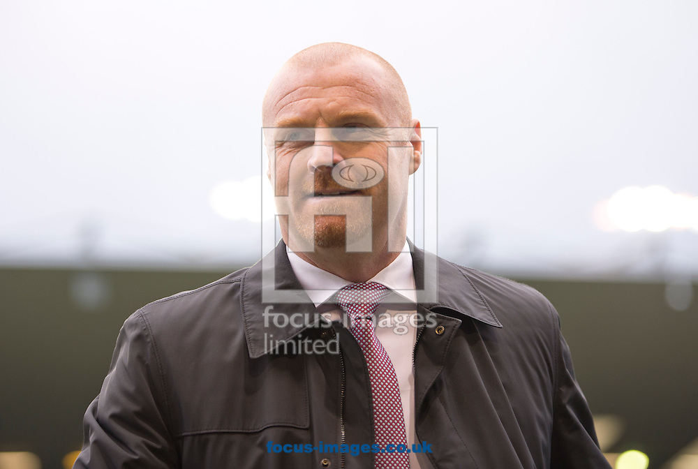 Burnley manager Sean Dyche before the Sky Bet Championship match at Turf Moor, Burnley<br /> Picture by Russell Hart/Focus Images Ltd 07791 688 420<br /> 22/11/2015