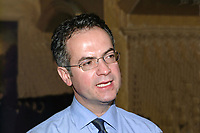 Alex Attwood, SDLP member of N Ireland Assembly for West Belfast. Ref: 2000110849.<br />
