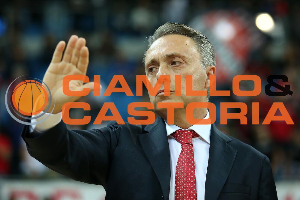 Bucchi Piero<br /> Consultinvest VL Pesaro - Sidigas Avellino <br /> Lega BasketSerie A 2016/2017<br /> Pesaro 23102016