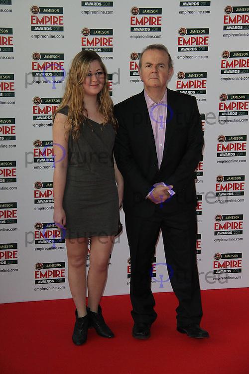Ian Hislop; Emily Hislop Jameson Empire Awards, Grosvenor House Hotel, Park Lane, London, UK, 27 March 2011:  Contact: Rich@Piqtured.com +44(0)7941 079620 (Picture by Richard Goldschmidt)