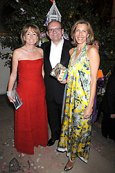 Left to right, MICHAEL & LORRAINE SPENCER and KATRIN HENKEL at the Royal Academy of Art's Summer Ball held at Burlington House, Piccadilly, London on 16th June 2008.<br /><br />NON EXCLUSIVE - WORLD RIGHTS