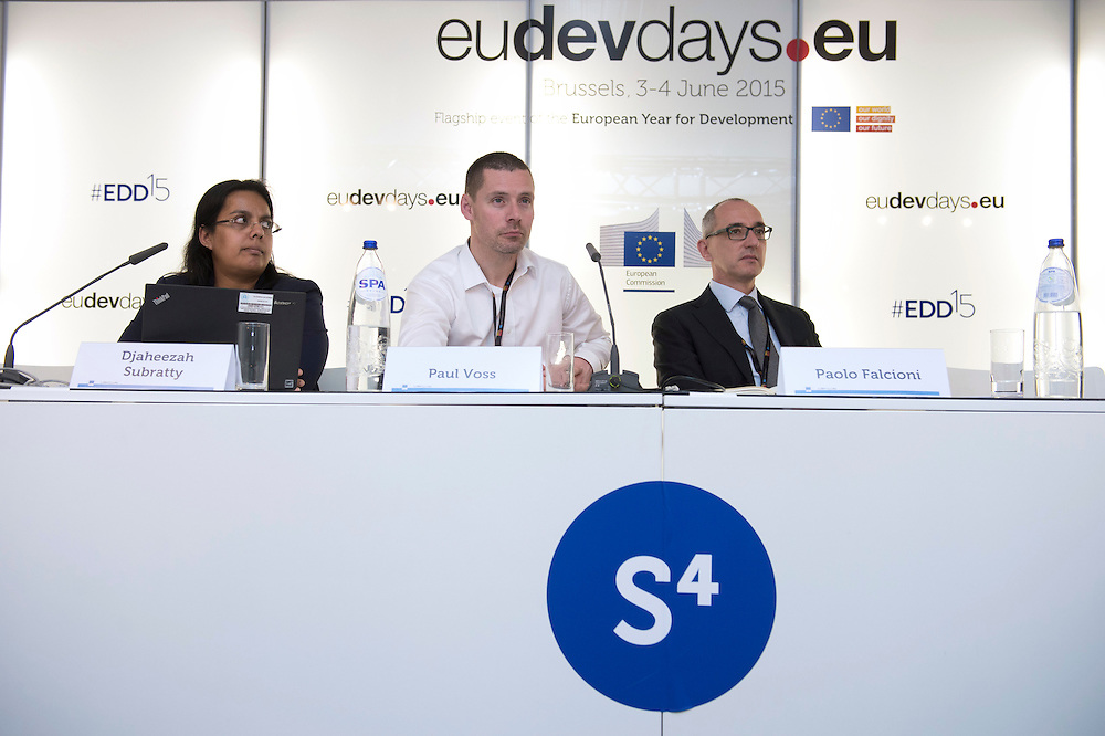 03 June 2015 - Belgium - Brussels - European Development Days - EDD - Energy - Multi-stakeholder partnerships for energy efficiency © European Union