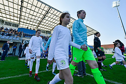 Zala Mersnik of Slovenia during women football match between National teams of Slovenia and Iceland in 2019 FIFA Women's World Cup qualification, on April 06, 2018 in Sportni park Lendava, Lendava, Slovenia. Photo by Mario Horvat / Sportida