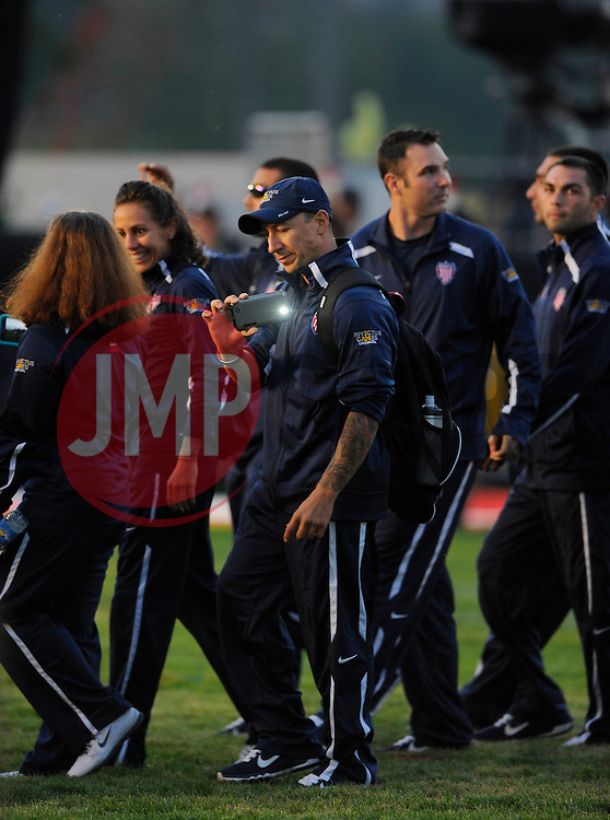 Members of the US team - Photo mandatory by-line: Joe Meredith/JMP - Mobile: 07966 386802 - 11/09/14 - The Invictus Opening Ceremony - London - Queen Elizabeth Olympic Park