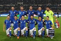 Formazione Italia Line Up <br /> Roma 13-10-2015 Stadio Olimpico Euro 2016 qualificazioni - Qualifying round group H Italia - Norvegia / Italy - Norway Foto Andrea Staccioli / Insidefoto