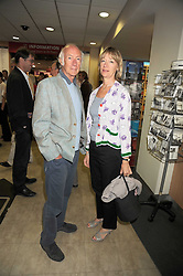 Writer ROGER McGOUGH and his wife HILARY at the Foyles Bookshop Summer Party at their store in Charing Cross Road, London on 3rd September 2008.<br /> <br /> NON EXCLUSIVE - WORLD RIGHTS