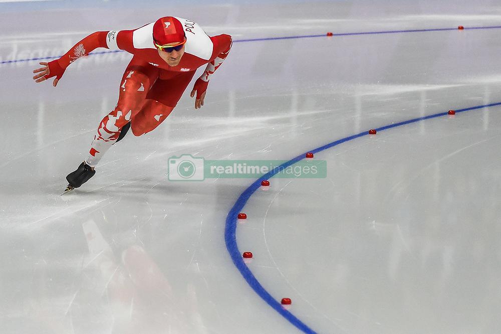 February 23, 2018 - Pyeongchang, Gangwon, South Korea - Piotr Michalski of Poland. at 1000 meter speedskating at winter olympics, Gangneung South Korea on February 23, 2018. (Credit Image: © Ulrik Pedersen/NurPhoto via ZUMA Press)