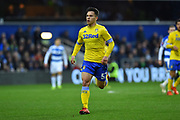 Kun Temenuzhkov (57) of Leeds United during the The FA Cup 3rd round match between Queens Park Rangers and Leeds United at the Loftus Road Stadium, London, England on 6 January 2019.