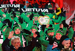 18.03.2017, Planai-Stadion, Schladming, AUT, Special Olympics 2017, Wintergames, Eröffnungsfeier, im Bild der Einmarsch der Delegation aus Litauen // the delegation of Lithuania during the opening ceremony in the Planai Stadium at the Special Olympics World Winter Games Austria 2017 in Schladming, Austria on 2017/03/17. EXPA Pictures © 2017, PhotoCredit: EXPA / Martin Huber
