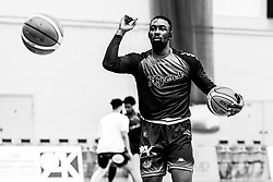 Raphell Thomas-Edwards of Bristol Flyers warms up prior to tip off - Photo mandatory by-line: Ryan Hiscott/JMP - 17/01/2020 - BASKETBALL - SGS Wise Arena - Bristol, England - Bristol Flyers v London City Royals - British Basketball League Championship