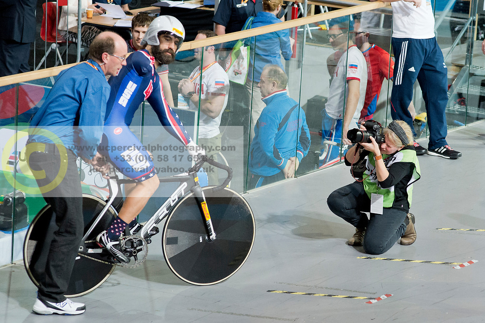 Inge Hondebrink, USA, Sprint Qualifiers, 2015 UCI Para-Cycling Track World Championships, Apeldoorn, Netherlands