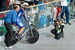 Inge Hondebrink, USA, Sprint Qualifiers, 2015 UCI Para-Cycling Track World Championships, Apeldoorn, Netherlands