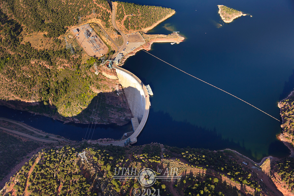 The Dam at Flaming Gorge Reservoir