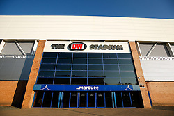 A general view outside the DW stadium - Photo mandatory by-line: Rogan Thomson/JMP - 07966 386802 - 22/09/2014 - SPORT - FOOTBALL - Wigan, England - DW Stadium - Wigan Athletic v Ipswich Town - Sky Bet Championship.