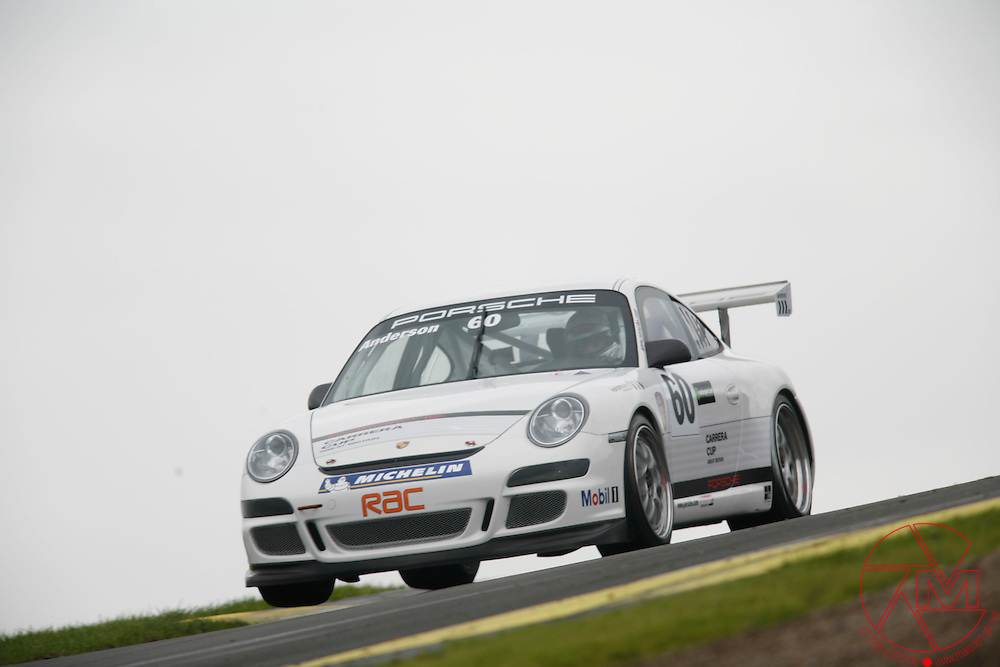 2008 PCCGB..Knockhill, Scotland..16th&17th July.World Copyright: Malcolm Griffiths/LAT.REF:_MG_4201.JPG.Ben Anderson (GBR) Porsche Motorsport.