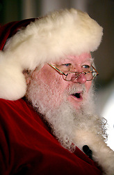 22 Nov 2011. New Orleans, Louisiana, USA.  <br /> Santa Claus turns on the Christmas lights at the Astor Crowne Plaza hotel on Canal Street in New Orleans.<br /> Photos; Charlie Varley