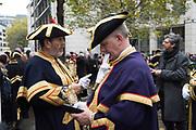 WARDE BEADLES, Lord Mayor's show London. 11 November 2017.
