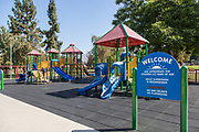 Children's Playground at Dalton Park in Azusa