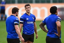 Cameron Redpath looks on, Bath Rugby were allowed to start Stage Two of the Premiership Rugby return to play protocol - Mandatory byline: Patrick Khachfe/JMP - 07966 386802 - 06/08/2020 - RUGBY UNION - The Recreation Ground - Bath, England - Bath Rugby training