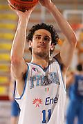 Porto San Giorgio, 05/06/07<br /> Basket, nazionale italiana maschile<br /> bianchi vs blu<br /> nella foto: luca vitali<br /> foto ciamillo