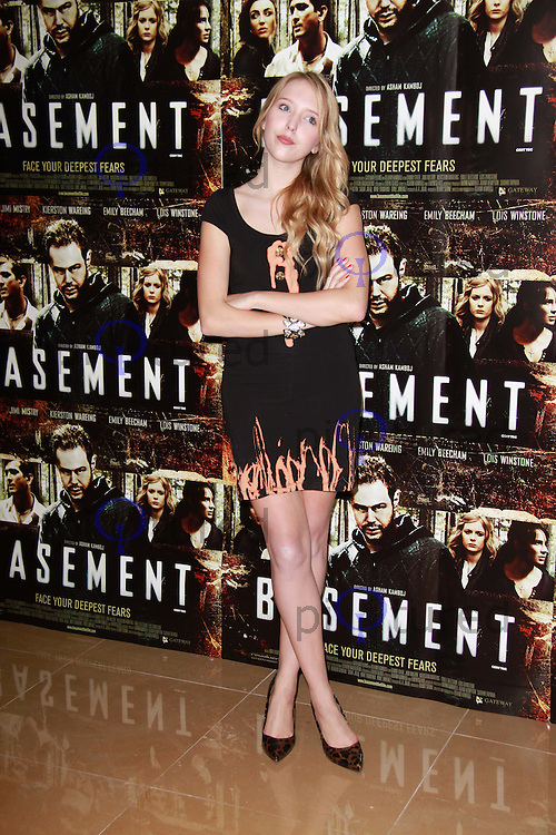 Amanda Marchant Basement UK Film Premiere held at the May Fair Hotel, London, UK, 17 August 2010: For piQtured Sales contact: Ian@Piqtured.com +44(0)791 626 2580 (Picture by Richard Goldschmidt/Piqtured)