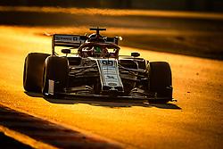 February 21, 2019 - Barcelona, Spain - 99 GIOVINAZZI Antonio (ita), Alfa Romeo Racing C38, action during Formula 1 winter tests from February 18 to 21, 2019 at Barcelona, Spain - Photo  Motorsports: FIA Formula One World Championship 2019, Test in Barcelona, (Credit Image: © Hoch Zwei via ZUMA Wire)