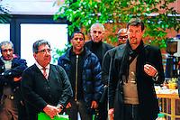 Armand LOPES / Thierry Froger - 07.01.2015 - Galette des rois / Presentation nouvel entraineur - Creteil<br /> Photo : Caroline Bloomberg / Icon Sport