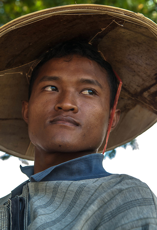 A farmer in Pai, Thailand
