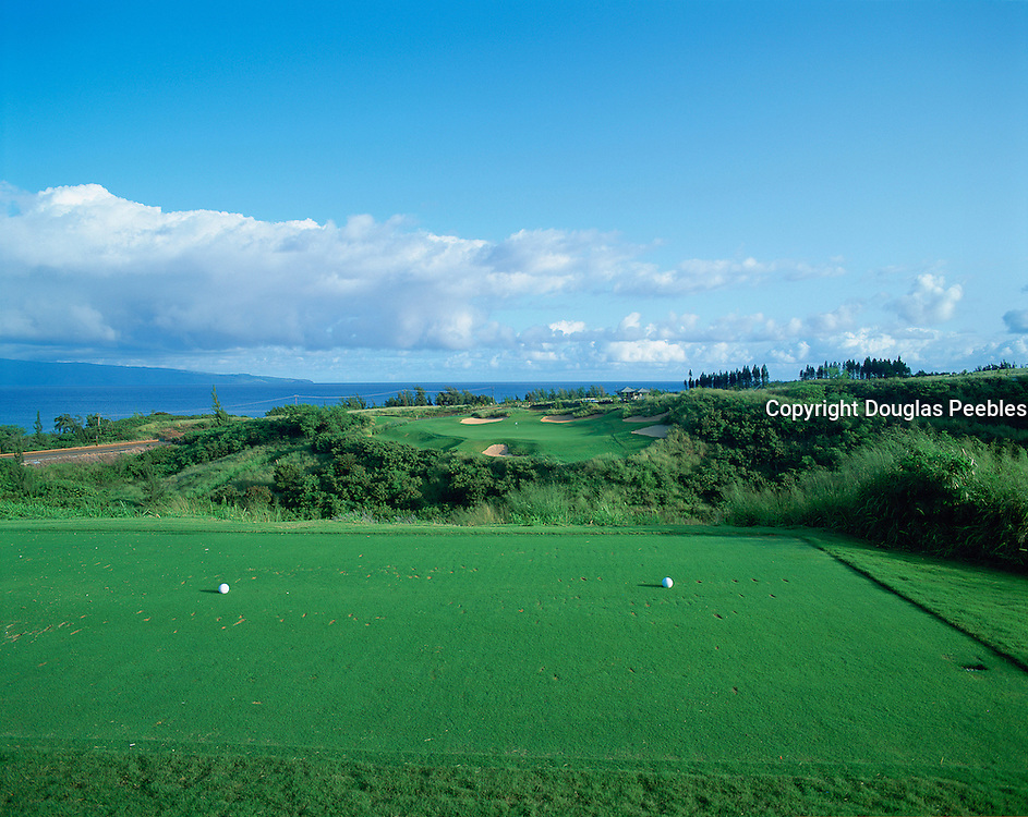 Kapalua golf course, Kapalua, Maui, Hawaii, USA<br />
