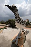 Roadrunner statue, Ft. Stockton, Texas