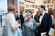 GRAYSON PERRY; DAME ANTONIA BYATT; GEORGE OSBORNE, Royal Academy Annual Dinner 2013. Piccadilly. London. 4 June 2013.