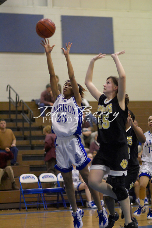 JV Girls Basketball..vs Manassas Park..February 4, 2005