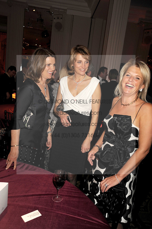 Left to right,MRS HARRY HERBERT , LADY CAROLYN WARREN and JANICE WRIGHT at the annual Cartier Racing Awards held at the Grosvenor House Hotel, Park Lane, London on 17th November 2008.