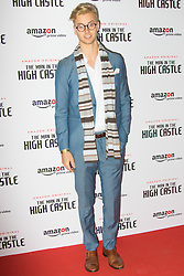 Curzon Bloomsbury, London, December 14th 2016. Celebrities attend the launch of Amazon Prime's European premiere for Season 2 of The Man In The High Castle. PICTURED: Barney Banks