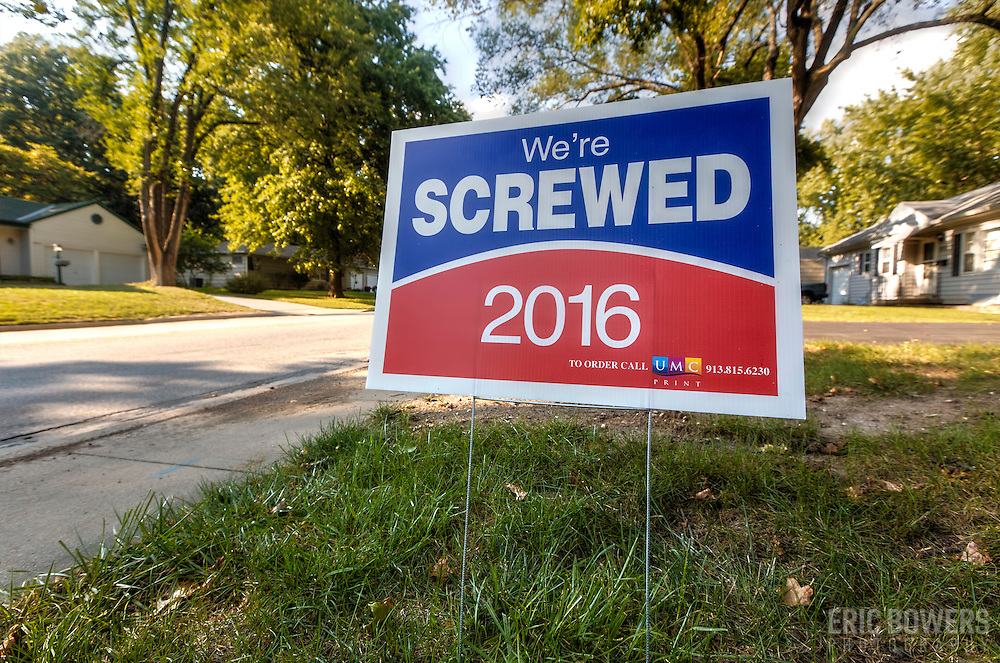 Presidential Election - We're Screwed 2016